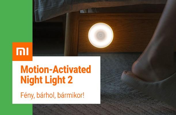 Xiaomi Mi Motion-Activated Night LIght 2 mozgásérzékelős éjjeli irányfény
